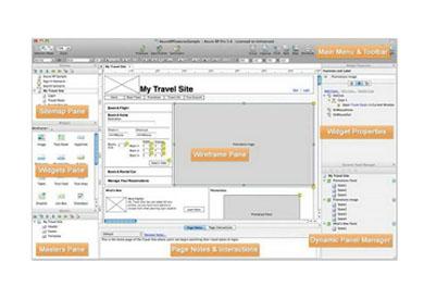 网站原型设计